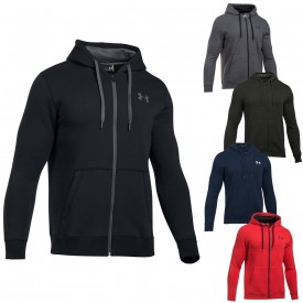 Veste à capuche Rival Fitted Full Zip - Under Armour 1302290