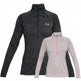 Sweat 1/2 zip Tech Novelty Femme - Under Armour 1320128