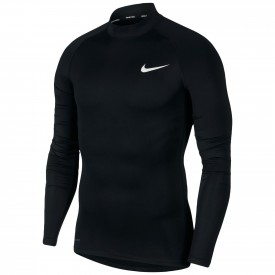 Maillot de compression Col haut Mock Long Sleeve Top Nike