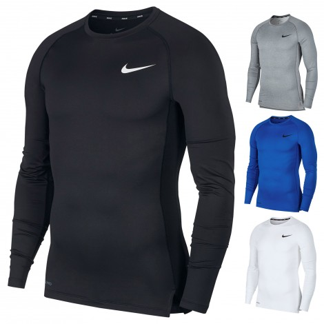 Maillot de compression Crew Long Sleeve Top Nike
